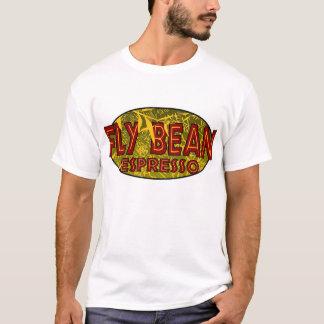 T-shirt café d'haricot de mouche