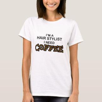 T-shirt Café du besoin - coiffeur