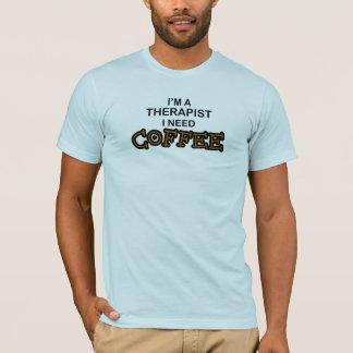 T-shirt Café du besoin - thérapeute