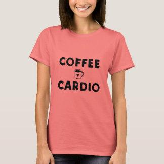 T-shirt Café et cardio-