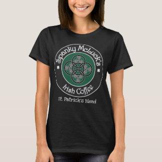 T-shirt Café irlandais de Spanky McLuck