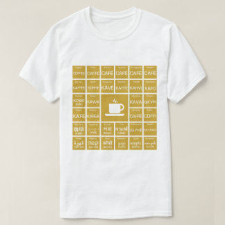 T-shirt Café - Multilinguals