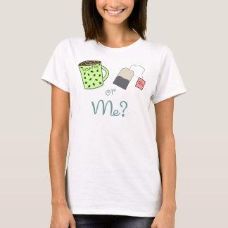 T-shirt Café, thé ou MOI ?