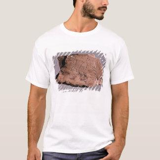 T-shirt Caillou dépeignant un homme attaqué par un bea