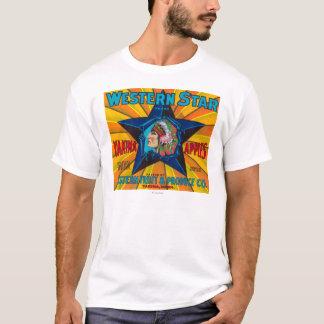 T-shirt Caïmite occidental marquent - Yakima, WA