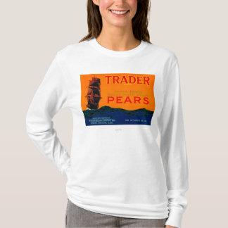 T-shirt Caisse LabelMedford de poire de commerçant, OU