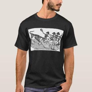 T-shirt Calaveras au fonctionnement des taureaux C. 1800's
