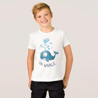T-shirt Calembour de baleine