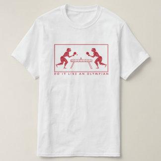 T-shirt Calembour drôle olympien de sports de ping-pong