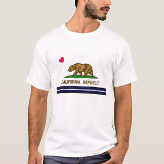 T-shirt California Flag Leather Pride
