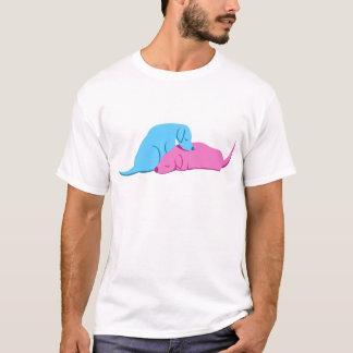 T-shirt Câlin de chienchien