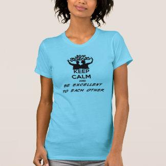 T-shirt Calme et excellent