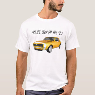 T-shirt Camaro 1967 solides solubles : Finition jaune :