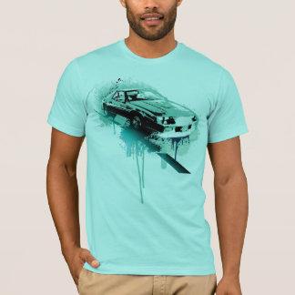 T-shirt Camaro (cyan)