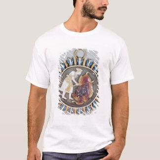 T-shirt Camée dépeignant le lion de massacre de Shah Jahan