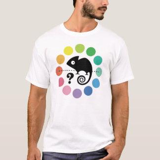T-shirt Caméléon coloré