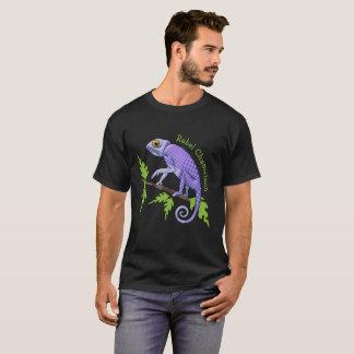 T-shirt Caméléon drôle, rebelle avec la bonne cause