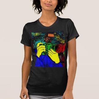 T-shirt Cameraman 3D ChromaDepth