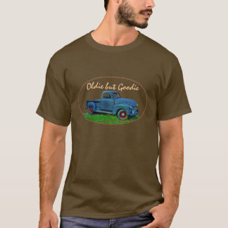T-shirt Camion 1947 de bleu de GMC 100 d'antiquité