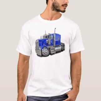 T-shirt Camion de bleu de Kenworth w900