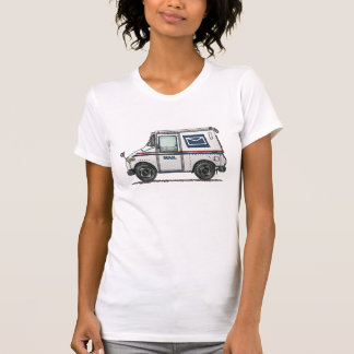 T-shirt Camion de courrier mignon