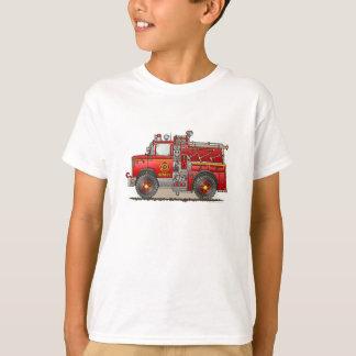 T-shirt Camion de délivrance d'ouvrier chargé des pompes