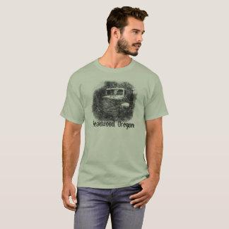 T-shirt Camion de l'Orégon de bois mort