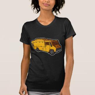 T-shirt Camion de nourriture : De base (jaune)