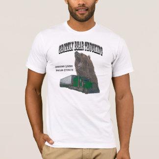 T-shirt Camionnage d'ours gris