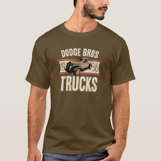 T-shirt Camions de Dodge Bros