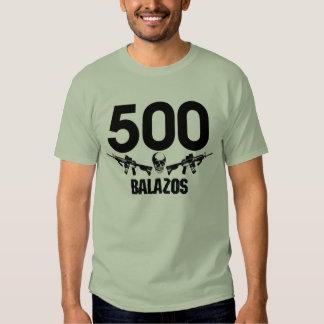 T-shirt Camiseta de 500 Balazos