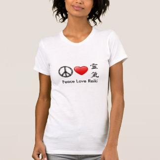 T-shirt Camisole de Reiki d'amour de paix