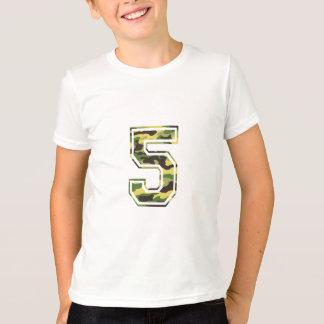 T-shirt Camo vert et jaune de #5
