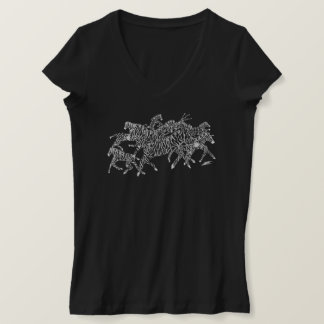 T-shirt Camouflage de confusion de zèbre