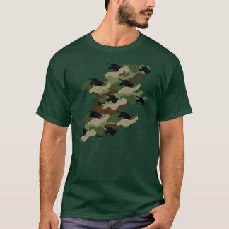 T-shirt Camouflage de licorne