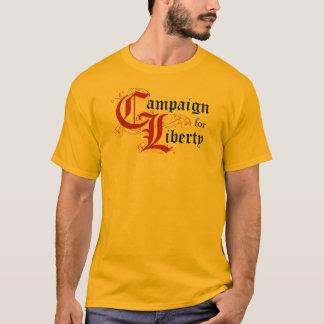 T-shirt Campagne pour la liberté (demandez-moi environ :)