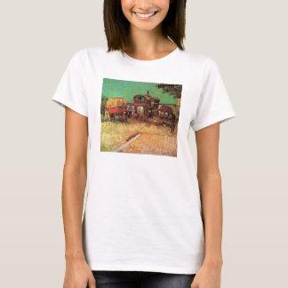 T-shirt Campement des caravanes de gitans par Vincent van