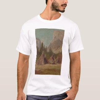 T-shirt Campement indien en vallée de Yosemite (1189)