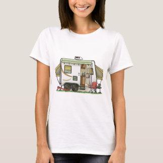 T-shirt Campeur expansible de remorque de Hybred