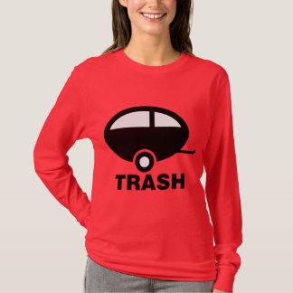 T-shirt Camping de voyage du ~ rv de déchets de remorque