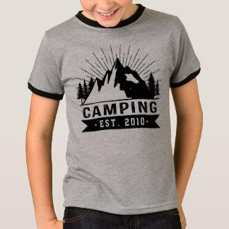 T-shirt Camping personnalisé