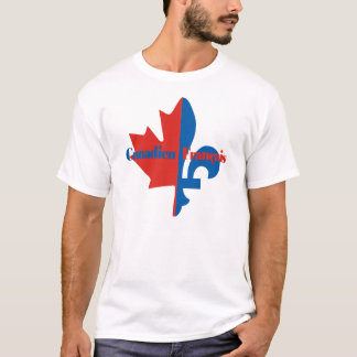 T-shirt Canadien Francais