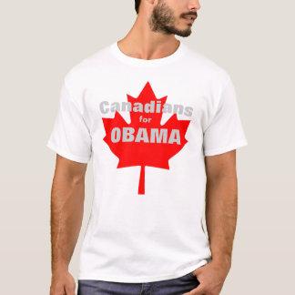 T-shirt Canadiens pour Obama