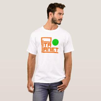 T-shirt Canalisation de planète de Pita (planète verte)