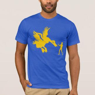 T-shirt Canard classé par cheval