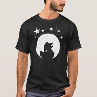T-shirt Canard dans la lune