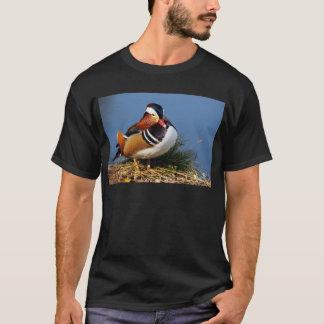 T-shirt Canard de mandarine masculin sur la banque de