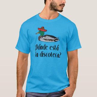 T-shirt Canard de sombrero