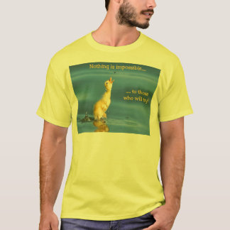 T-shirt Canard impossible