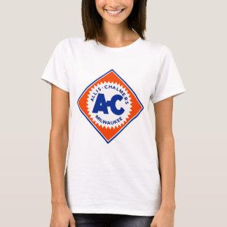 T-shirt Canard vintage de randonnée de tracteur d'Allis